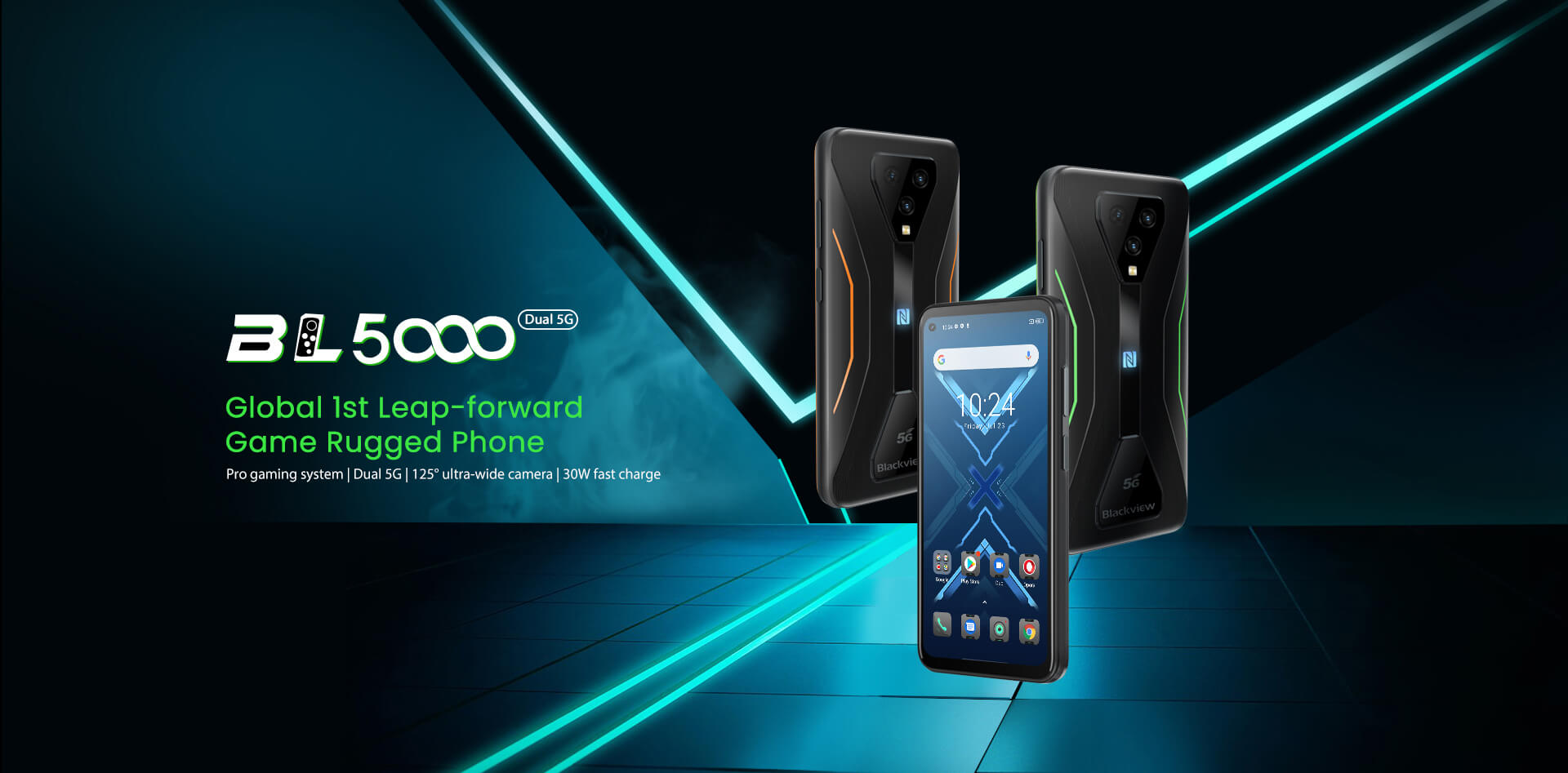 smartfon Blackview BL5000 gaming smartphone