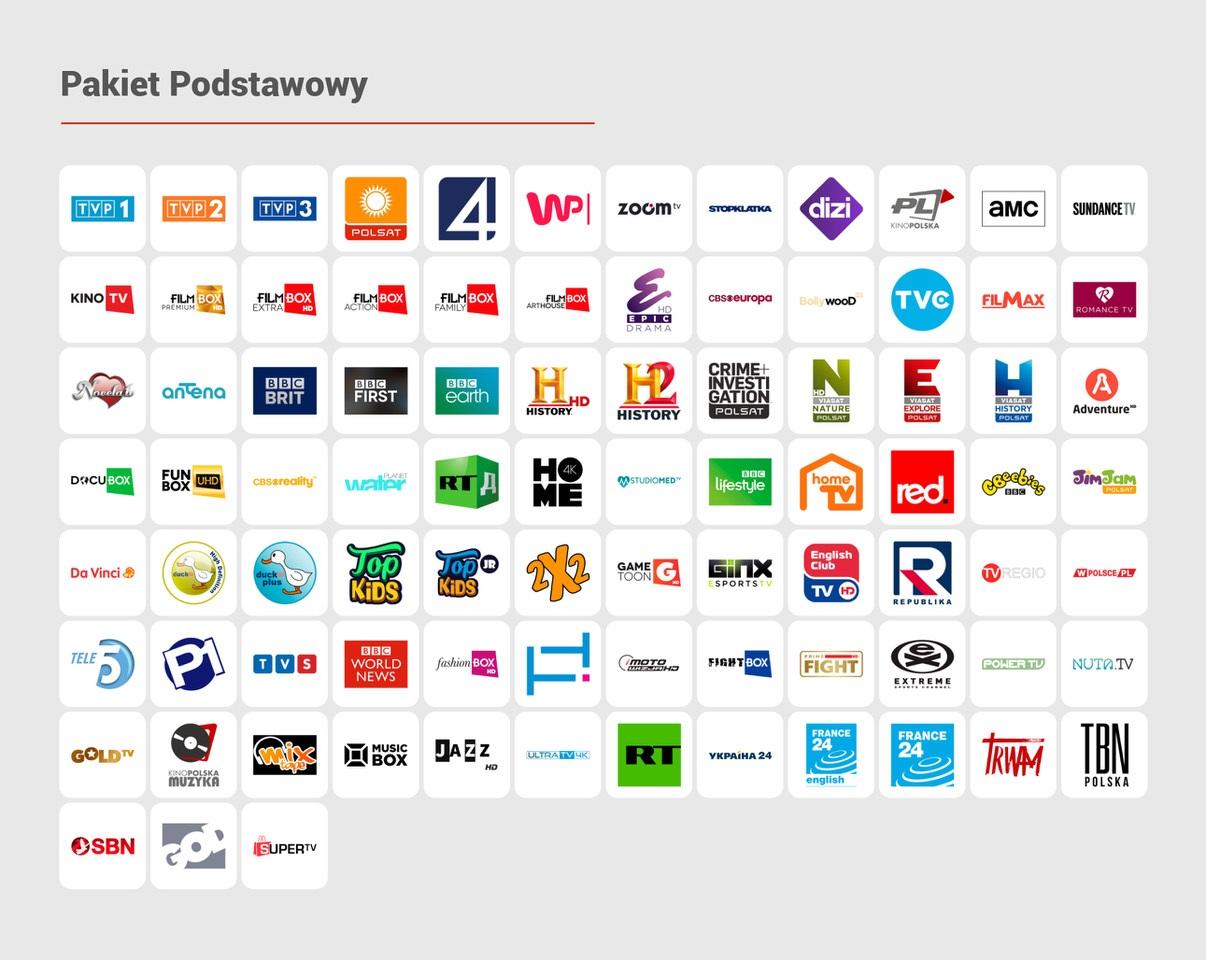 CDA TV Pakiet Podstawowy
