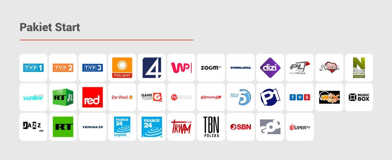 CDA TV Pakiet Start