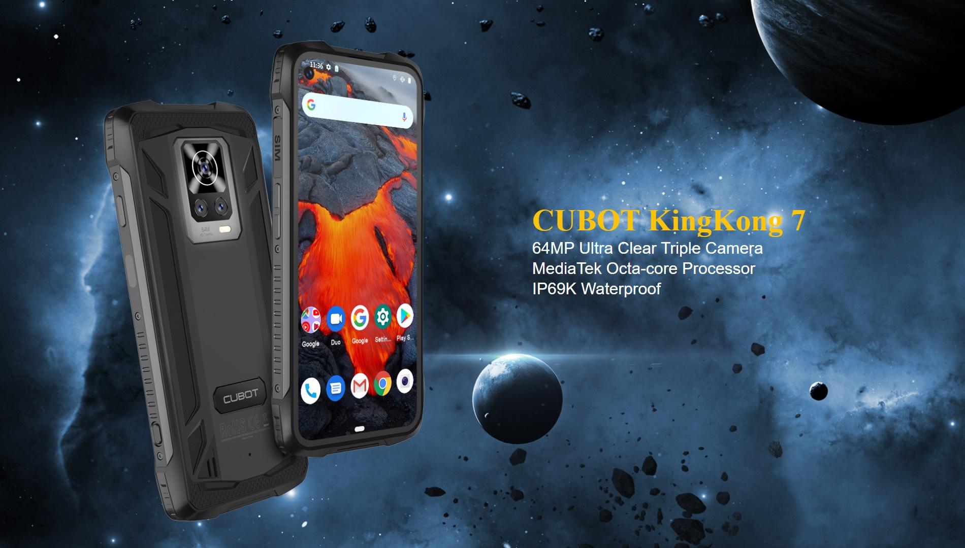 smartfon Cubot KingKong 7 smartphone