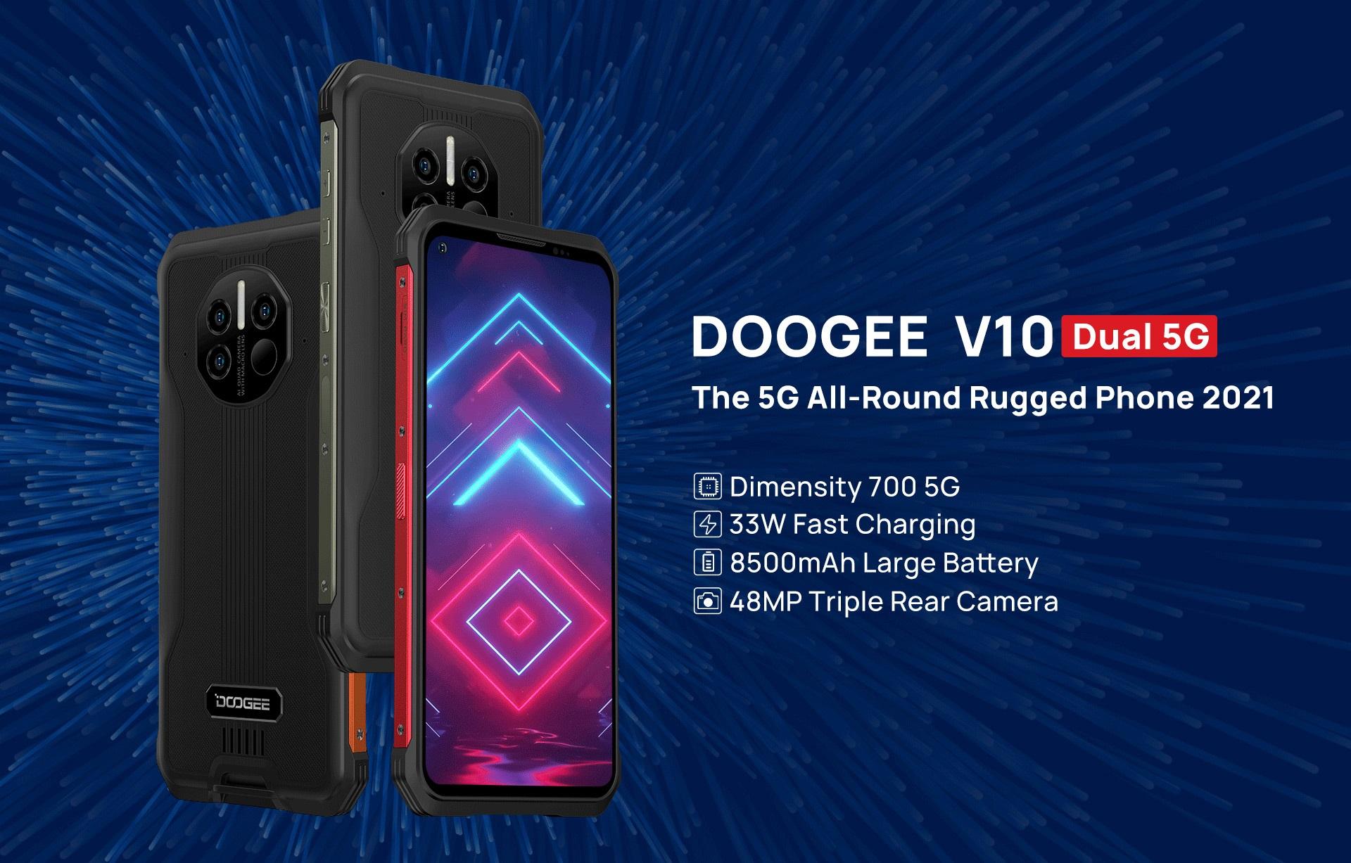 smartfon Doogee V10 5G smartphone
