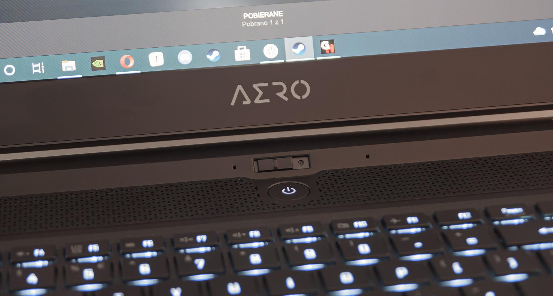 Gigabyte AERO 17 HDR Recenzja Tabletowo