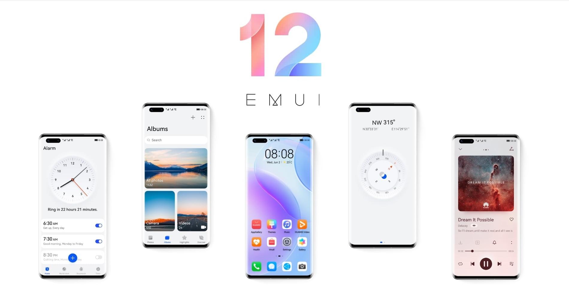 Huawei EMUI 12 logo