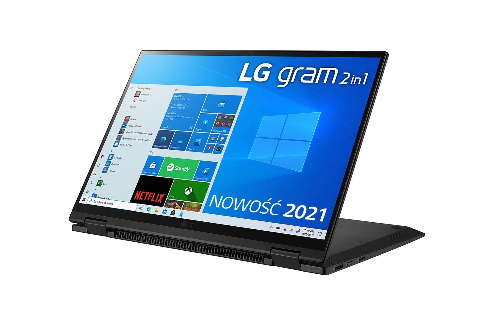 LG Gram 2w1 14 laptop