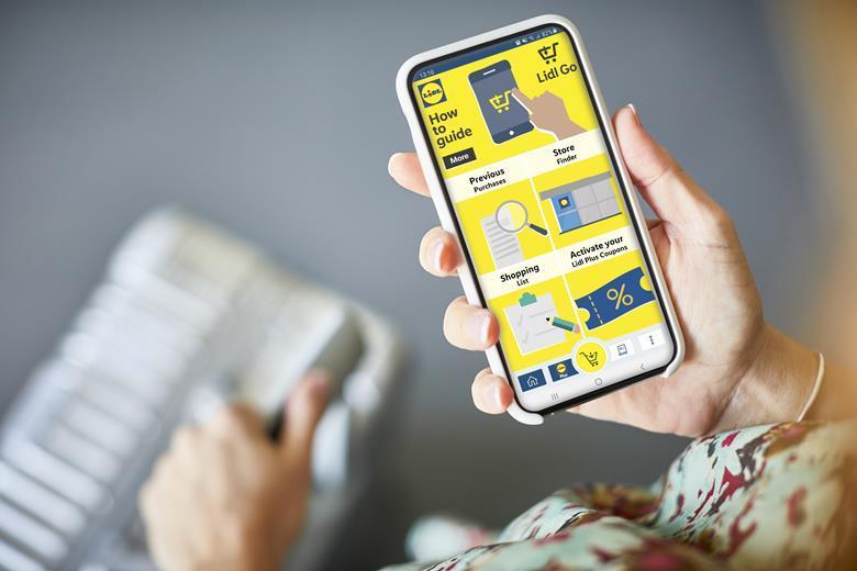 aplikacja Lidl Go app