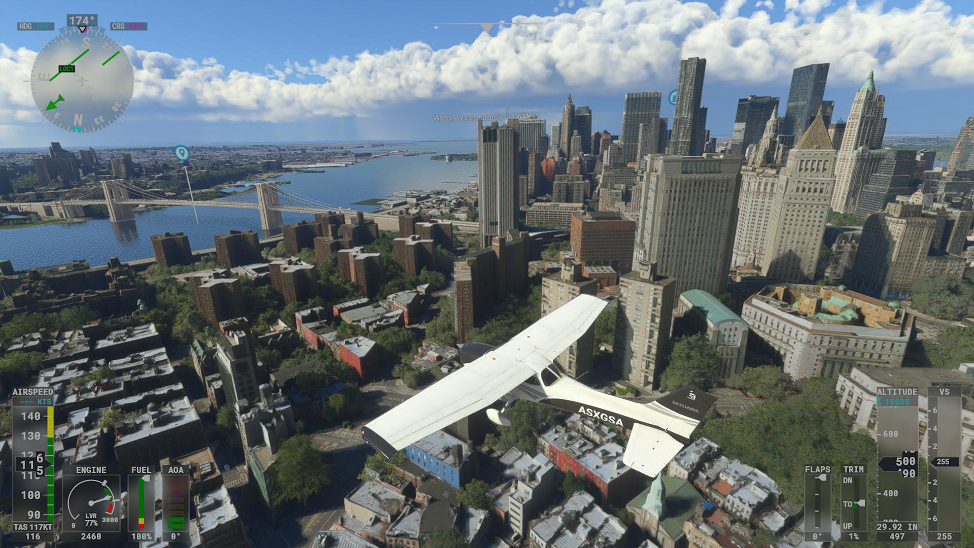 Recenzja Microsoft Flight Simulator na Xbox Series S - fot. Tabletowo.pl