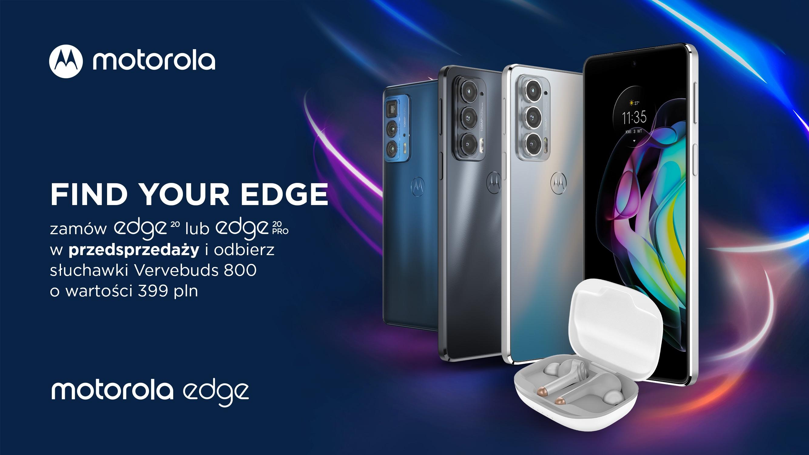 Motorola Edge 20 Pro polska przedsprzedaż promocja
