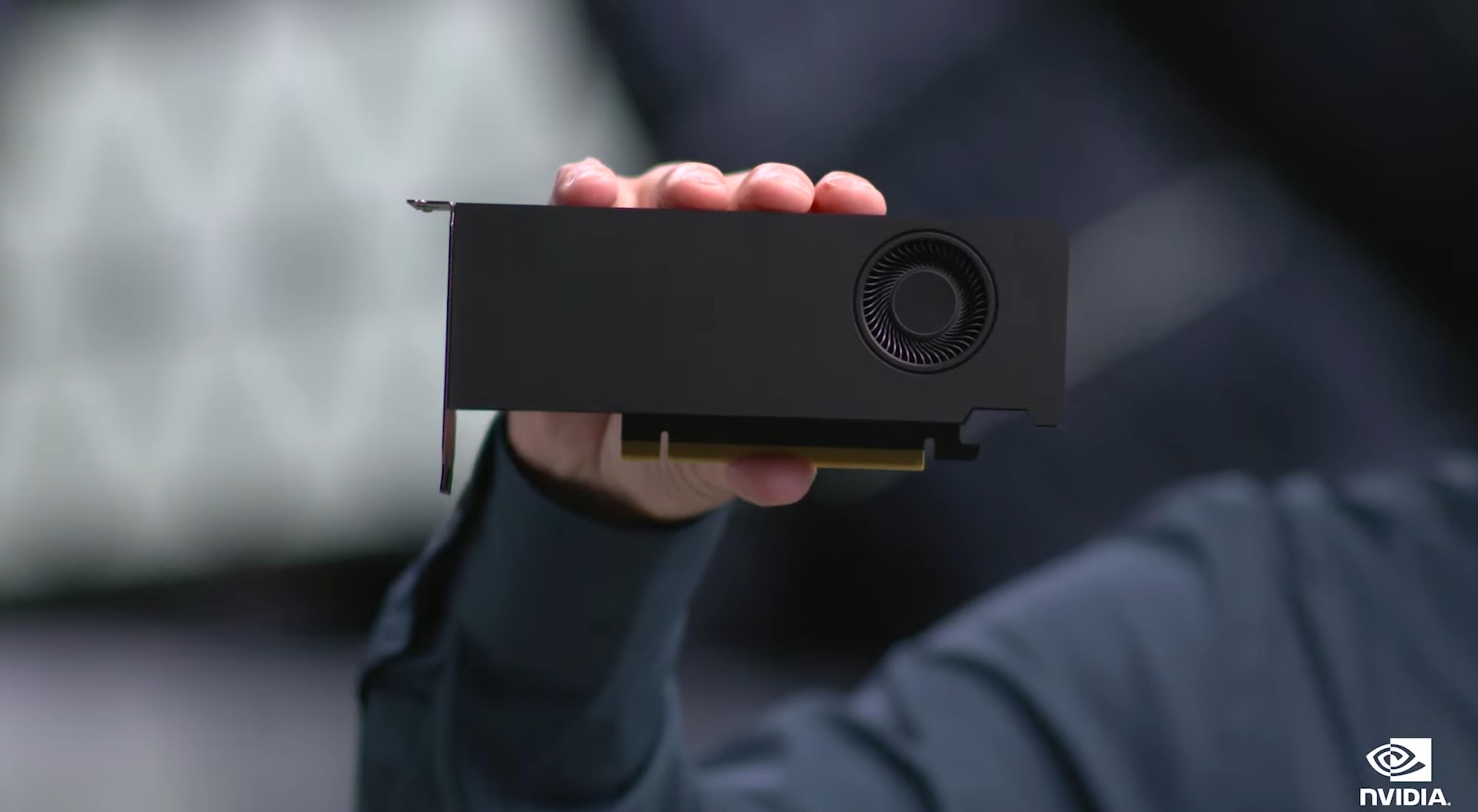NVIDIA RTX A2000 prezentacja