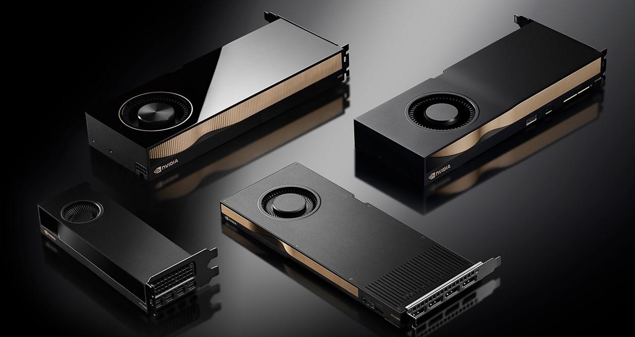 NVIDIA RTX A2000, RTX A4000, RTX A5000, RTX A6000