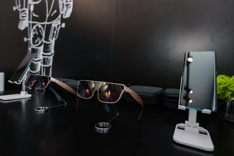 okulary rozszerzonej rzeczywistości Oppo AR Glass 2021