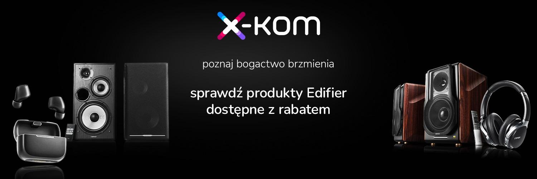 Promocja x-kom Edifier