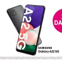 Samsung Galaxy A22 5G bez dodatkowych opłat 25. urodziny T-Mobile