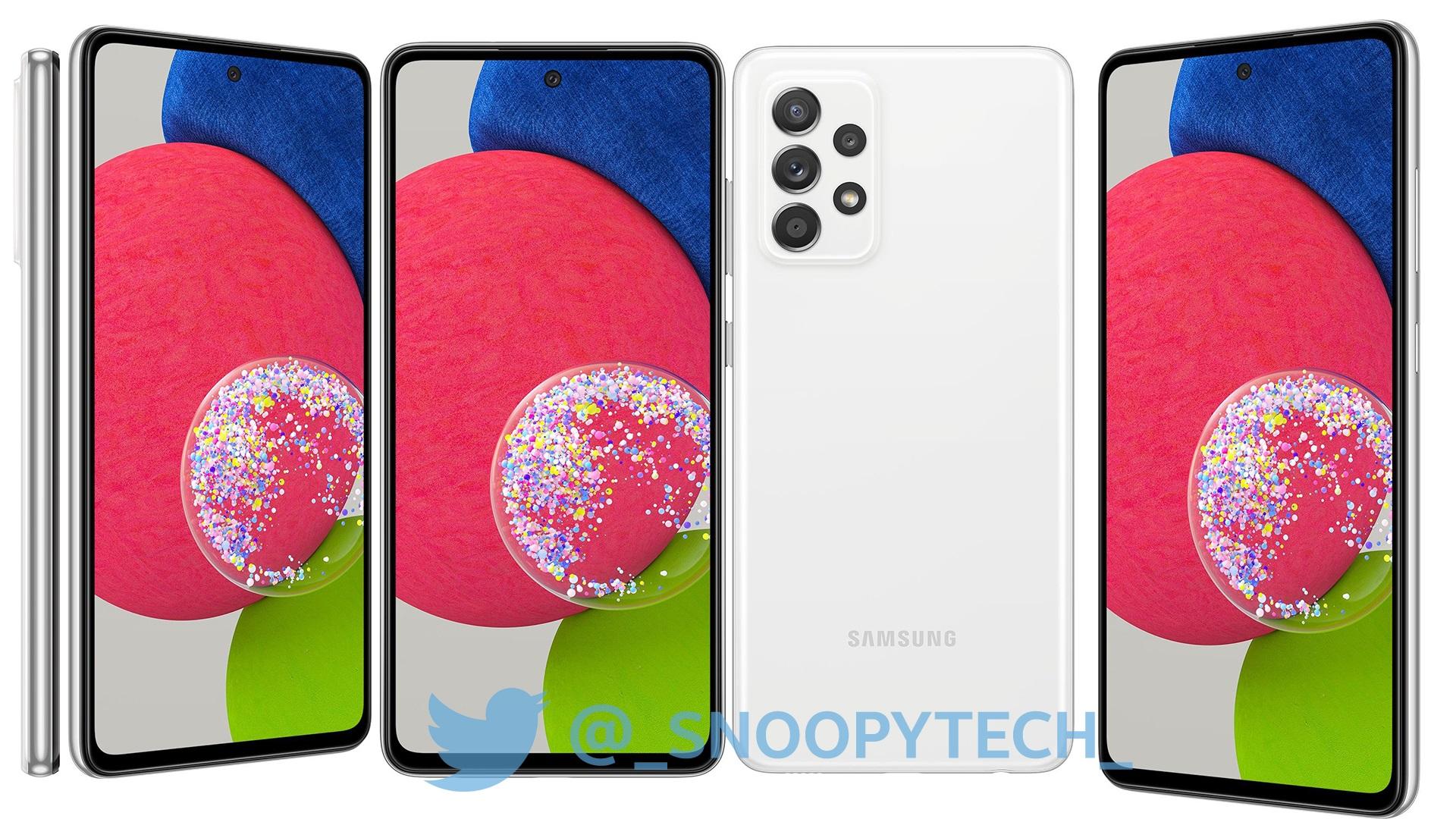 smartfon Samsung Galaxy A52s 5G smartphone