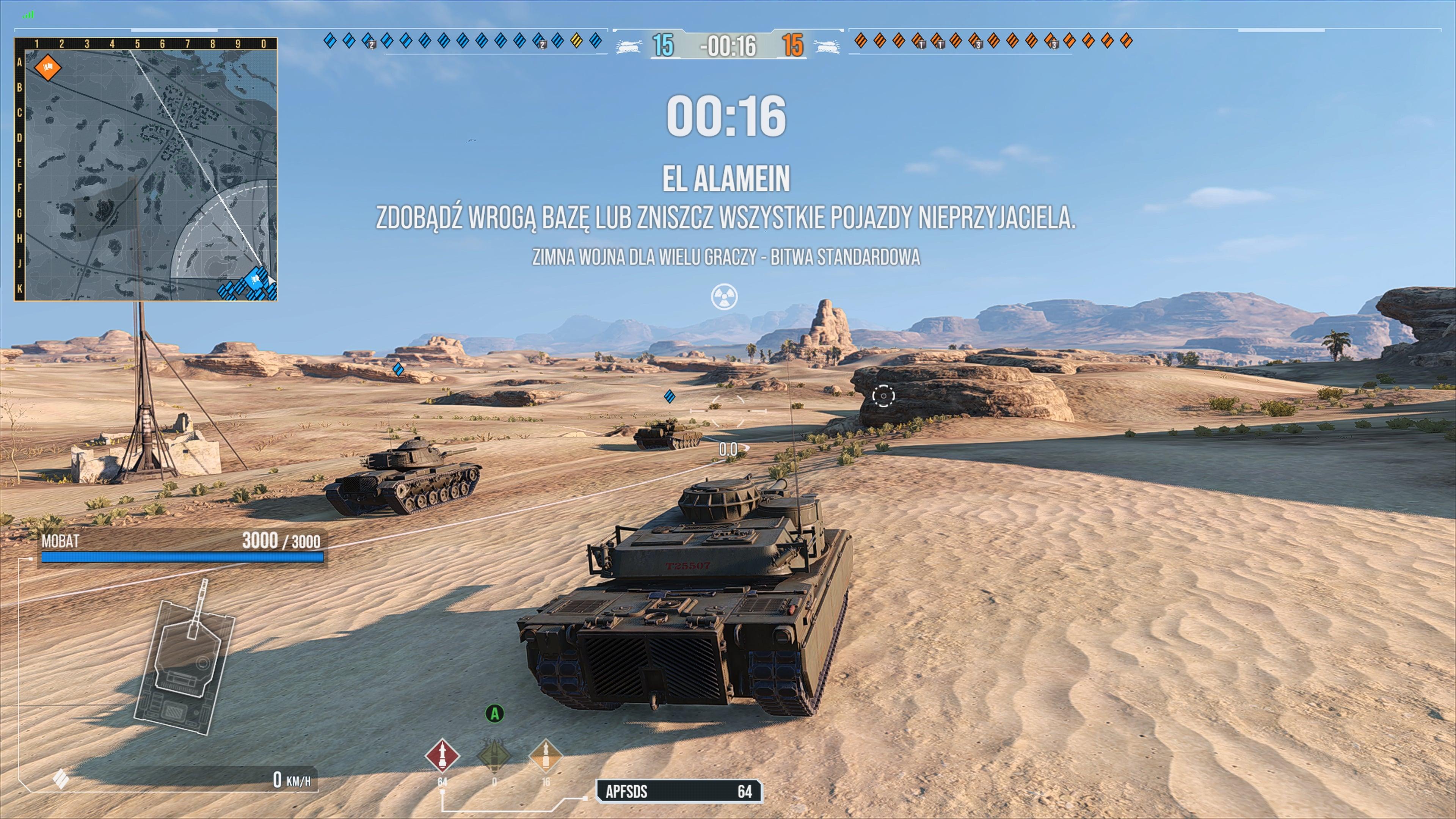 World of Tanks Zimna Wojna world of tanks modern armor