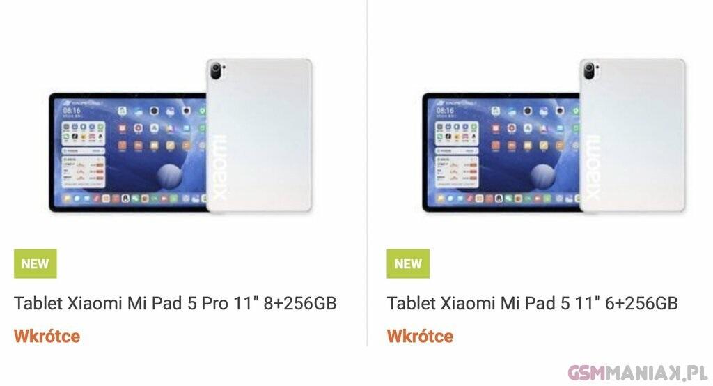 tablet Xiaomi Mi Pad 5 Pro w sklepie Mi-Store.pl