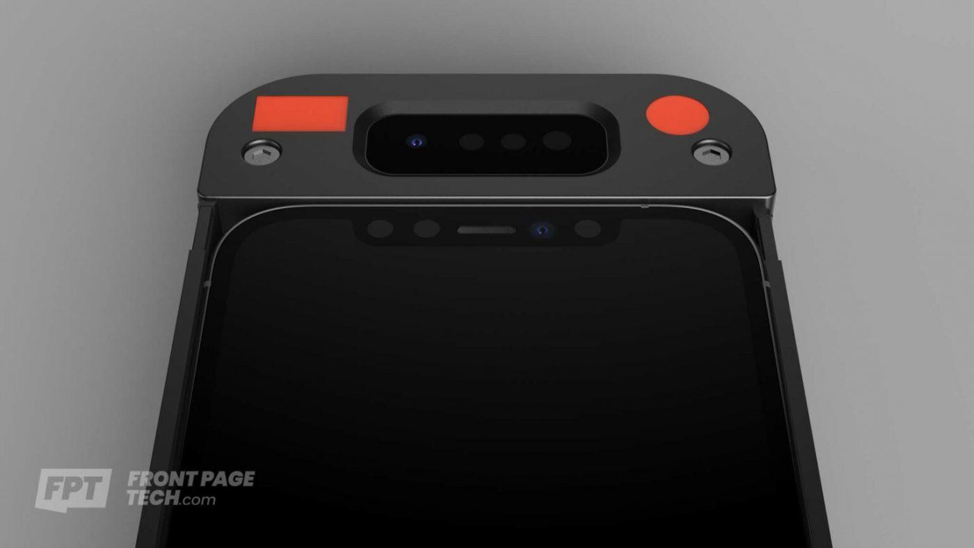 smartfon apple iphone prototyp face id smartphone prototype