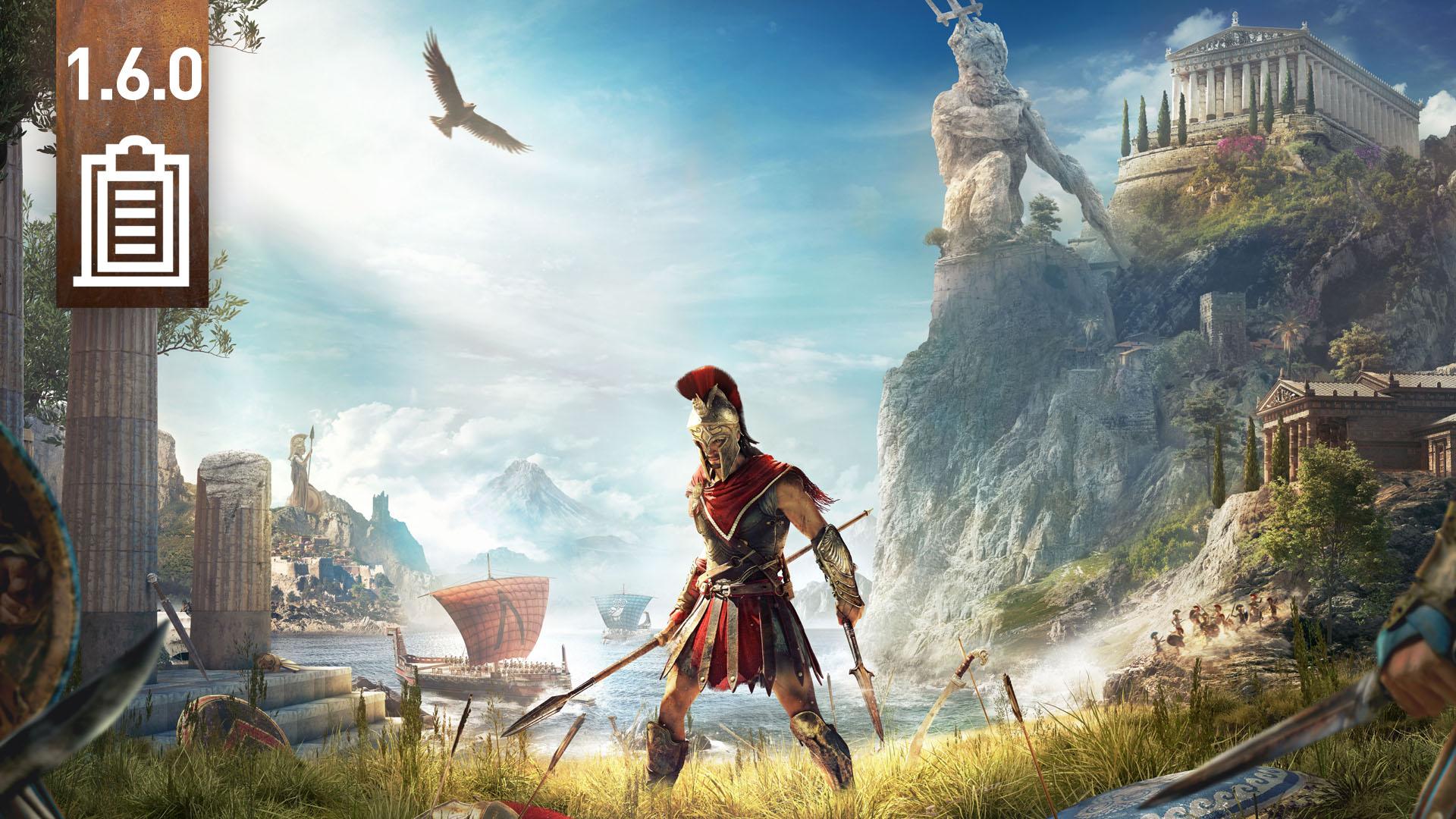 Patch 1.60 wkrótce dla Assassin's Creed Odyssey