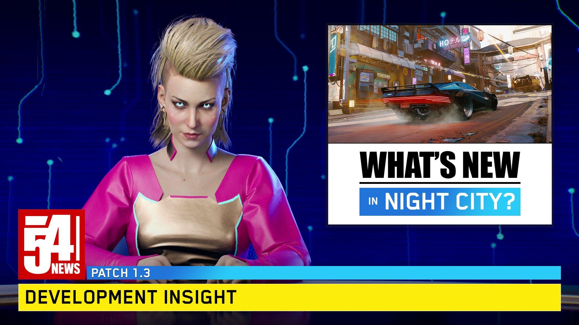 Zapowiedź aktualizacji 1.3 do Cyberpunk 2077