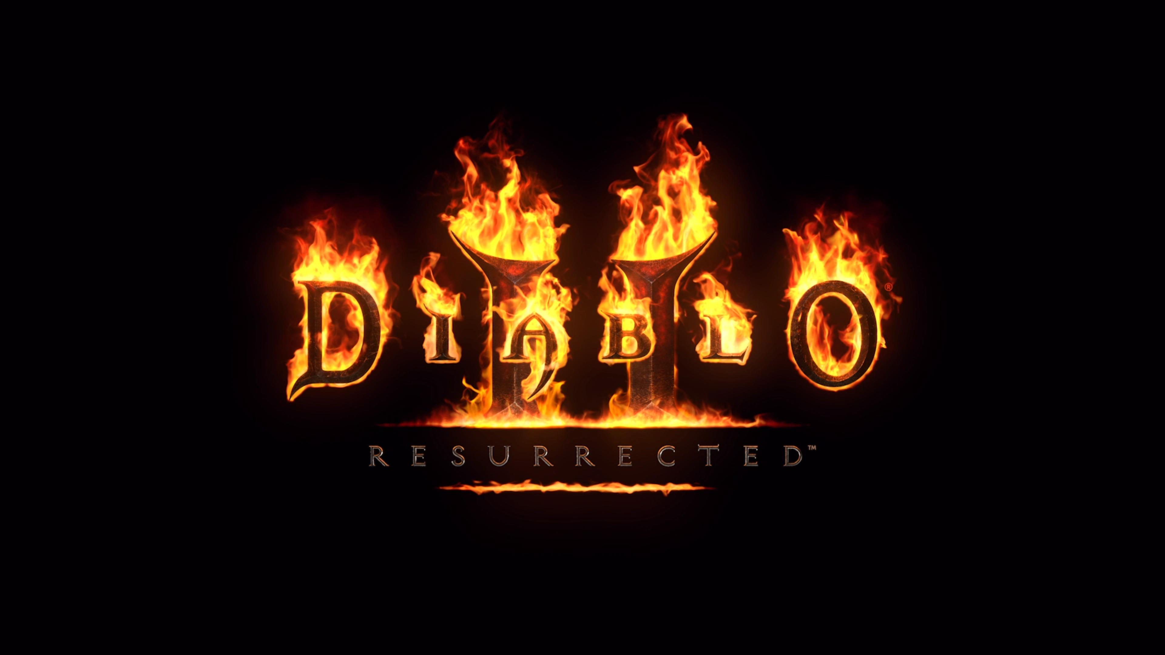 Diablo II Resurrected - grafika tytułowa