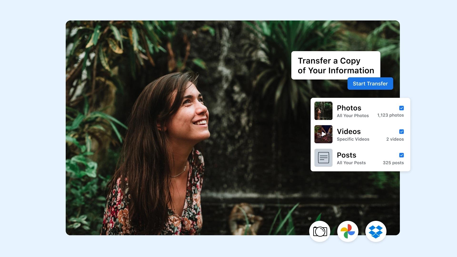 narzędzie do przesyłania danych z facebooka facebook data transfer tool