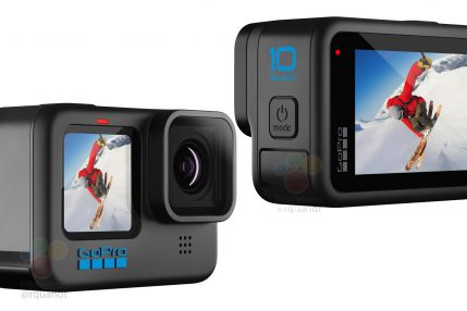 kamera sportowa gopro hero 10 black sport camera przeciek leak
