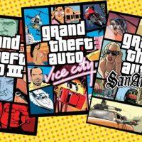 Kultowa trylogia GTA (źródło: Press Start Australia)
