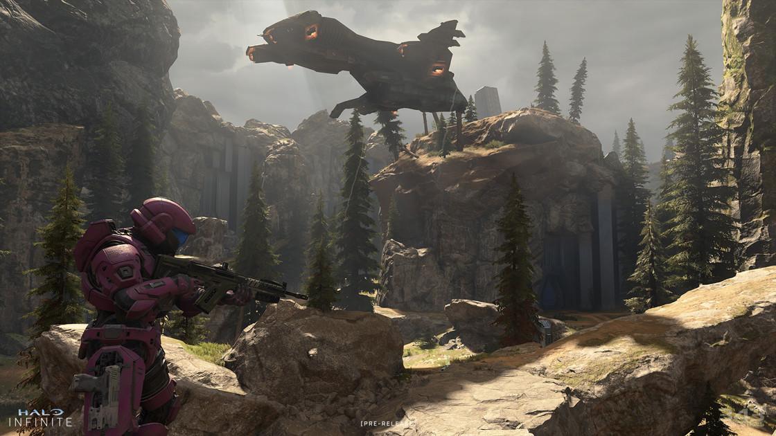Screenshot z gry Halo Infinite