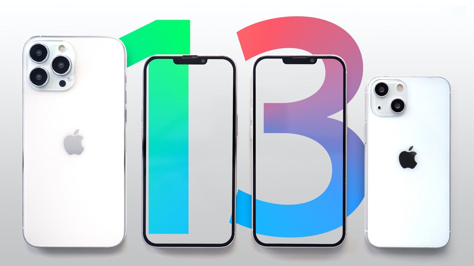 iPhone 13 concept render