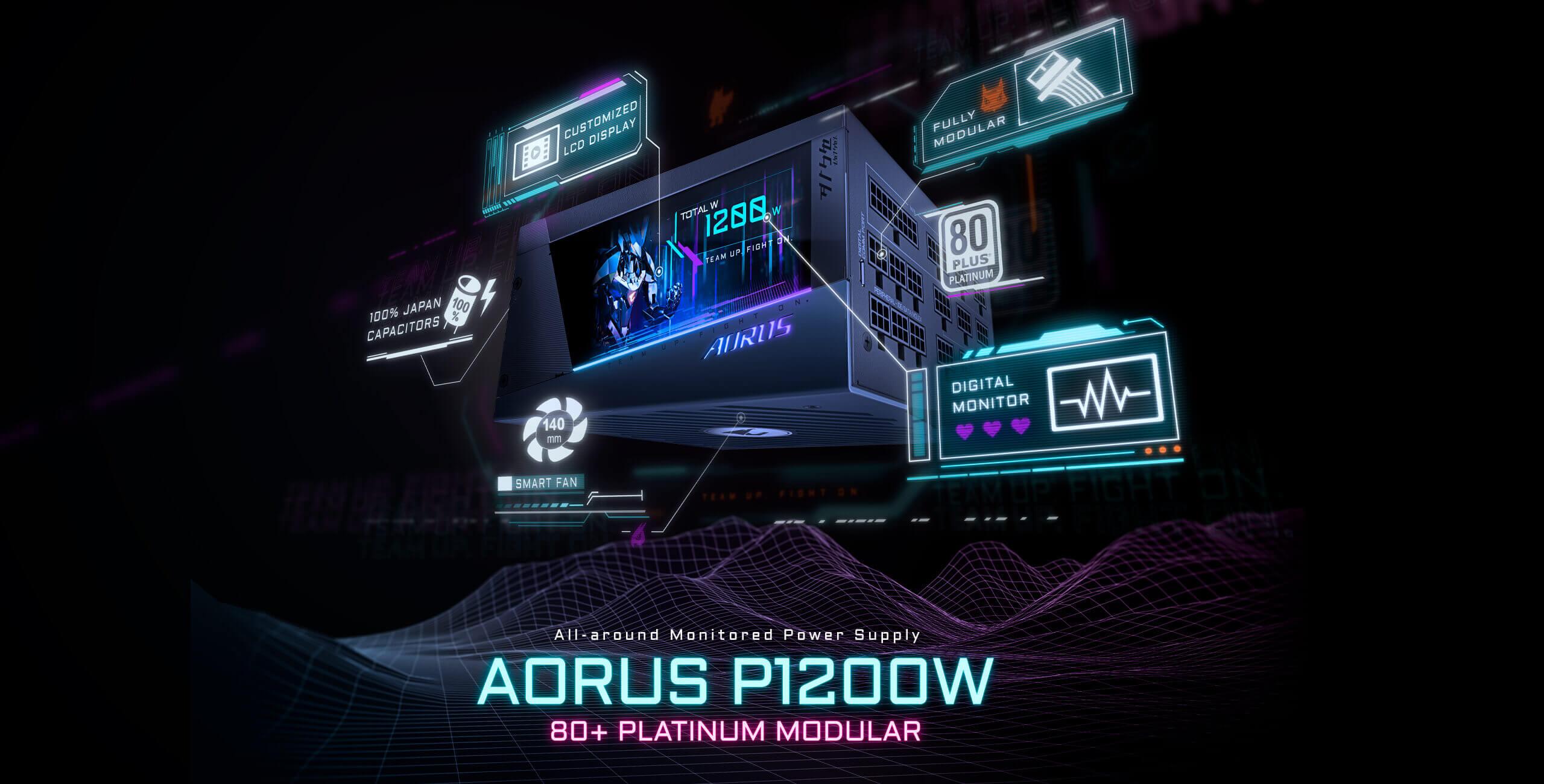 Gigabyte Aorus P1200W PSU