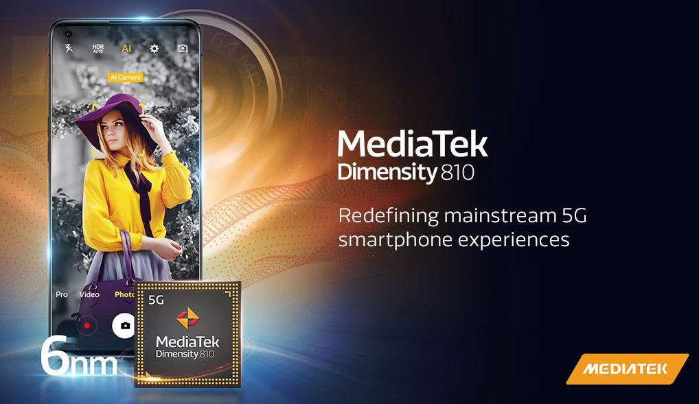 mediatek dimensity 810 infografika infographic