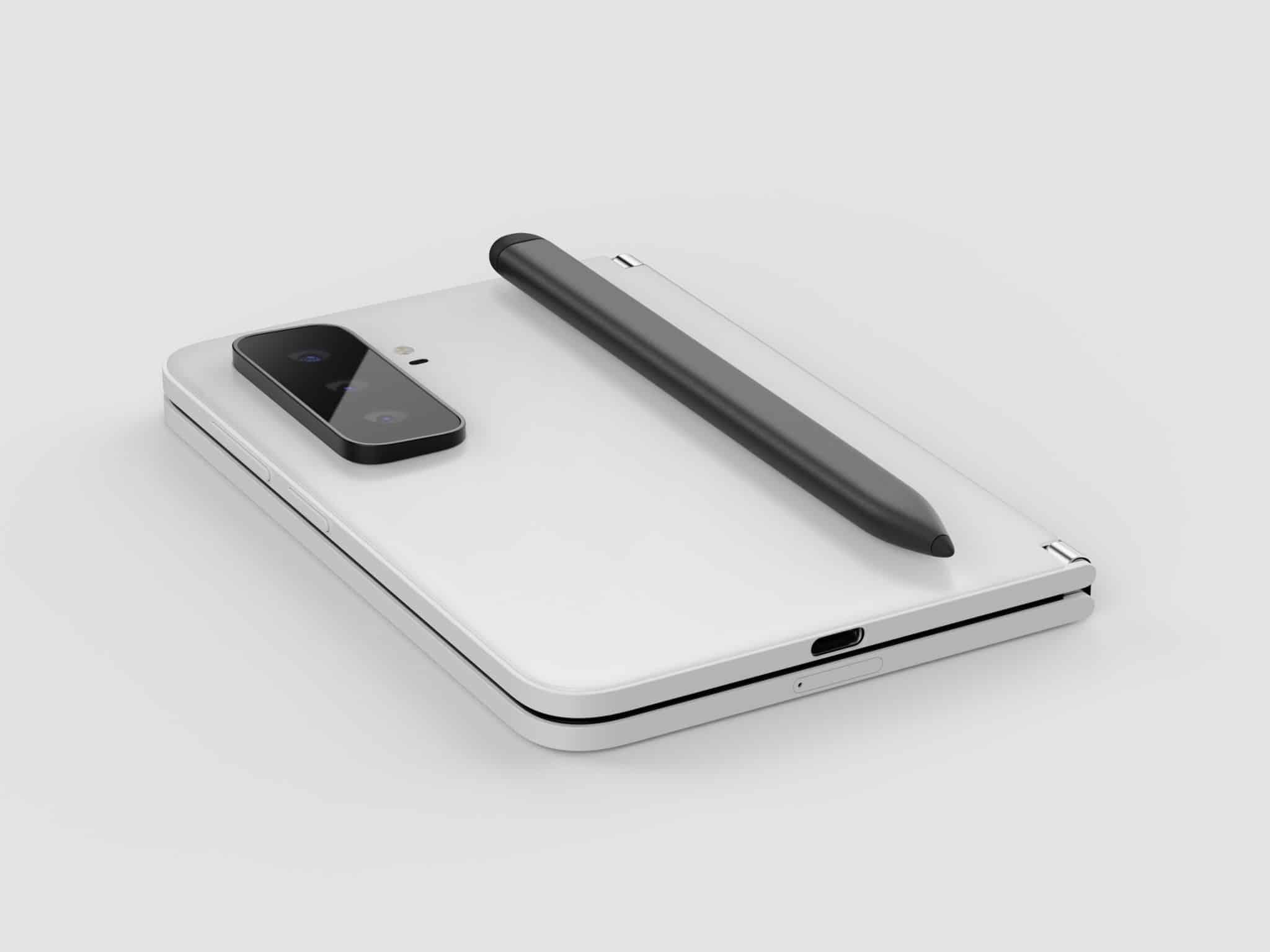 Surface Duo 2 złożony