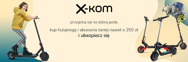 promocja x-kom hulajnogi