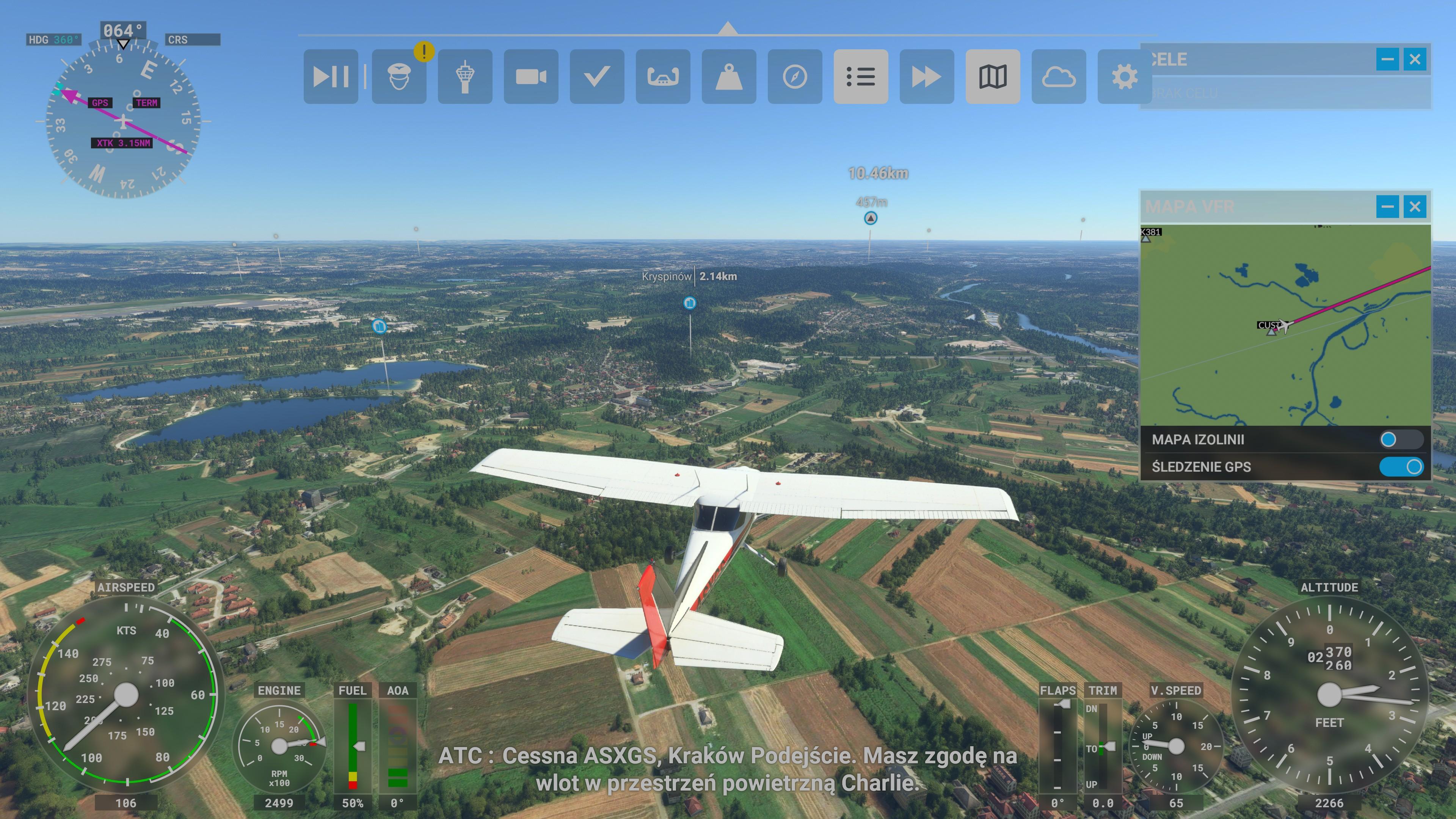 Recenzja Microsoft Flight Simulator na Xbox - fot. Tabletowo.pl