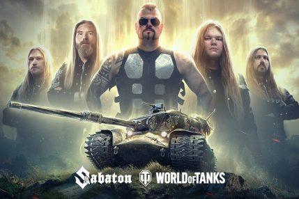 Sabaton gra razem z World of Tanks!