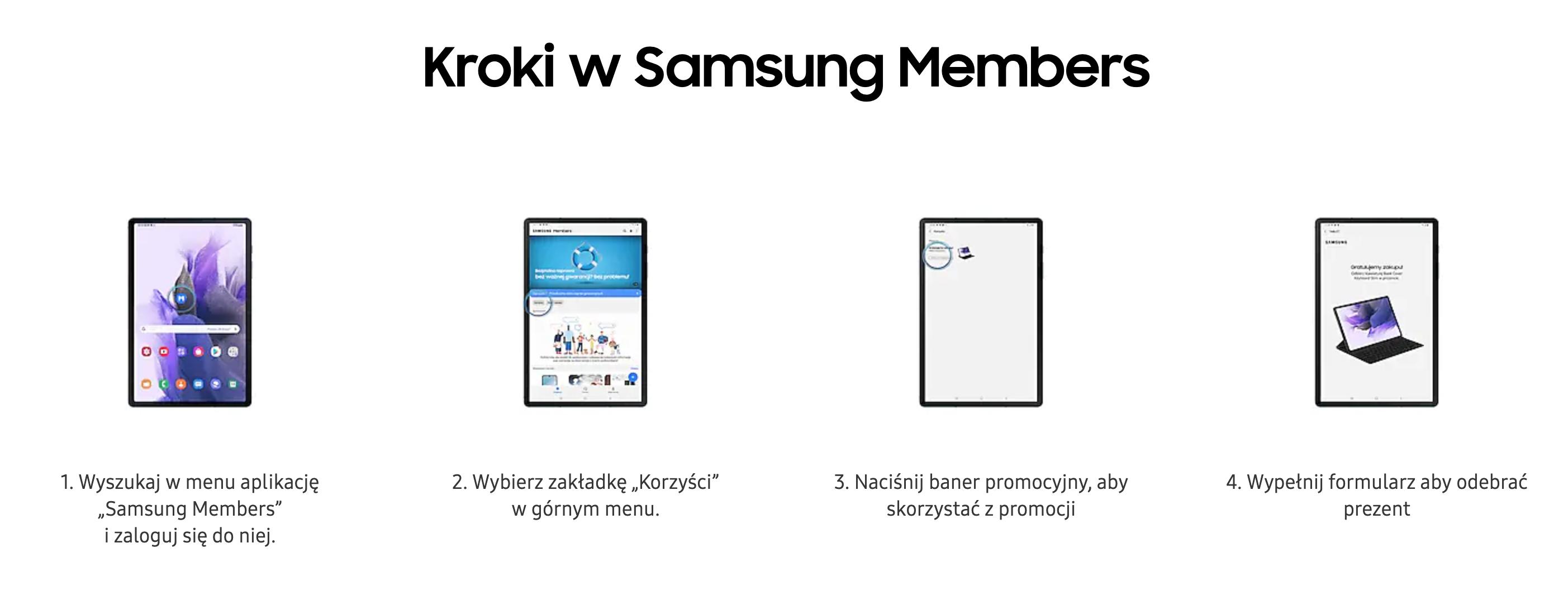 samsung members sposób zgłoszenia udziału w promocji