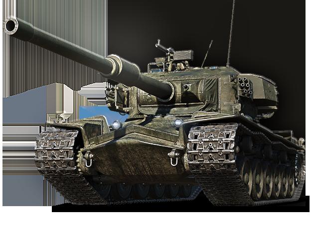 Strv K w pełnej okazałości. Niesamowity, szwedzki czołg! (źródło: World of Tanks)