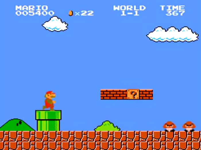 Super Mario Bros. to także jedno z moich pierwszych - jeśli nie pierwsze - wspomnień z grami