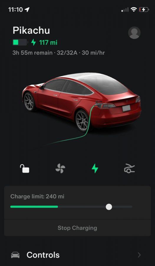 Tesla aplikacja