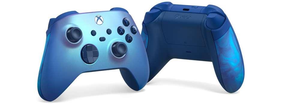 I teraz jeszcze Xbox Series X w kolorze Aqua Shift! Poważnie rozważyłbym kredyt (źródło: Xbox Wire)