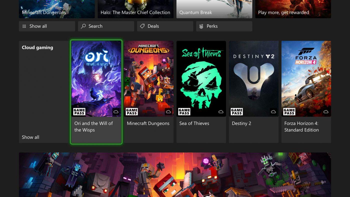 Dziesiątki pozycji z platformy Xbox już czekają, by zostać oddane do chmury w grudniu (źródło: Microsoft)