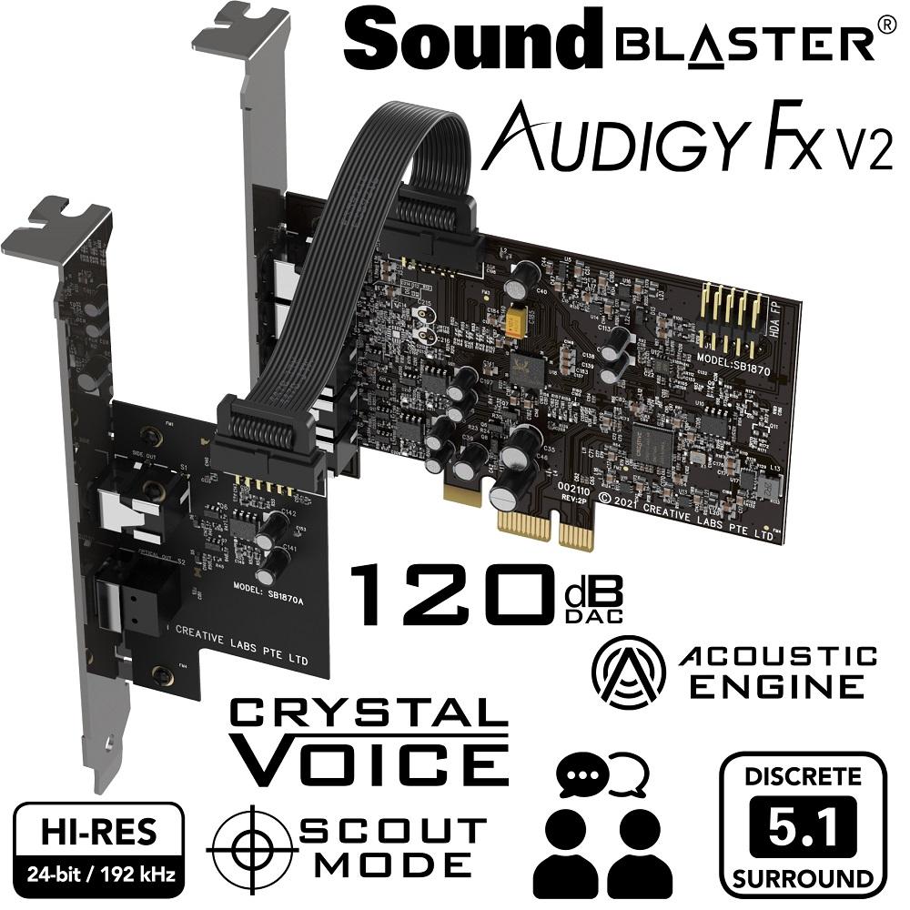 Creative Sound Blaster Audigy Fx V2 DBPro