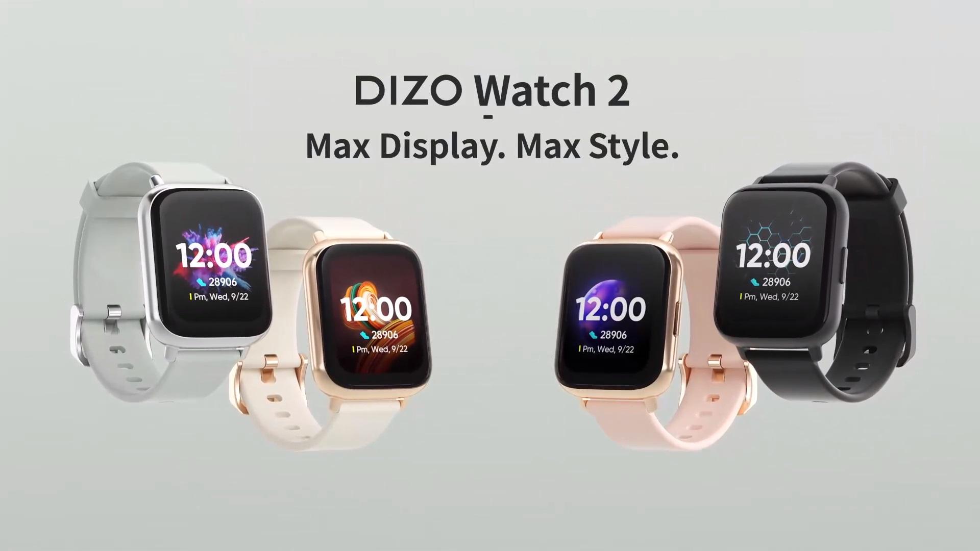 DIZO Watch 2 smartwatch