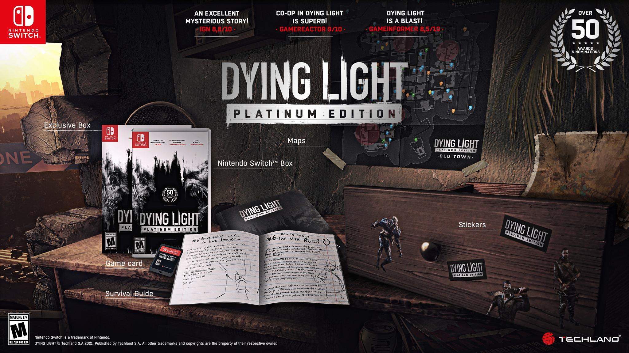 Dying Light Platinum Edition na Nintendo Switch
