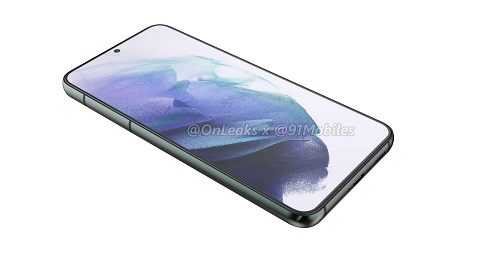 Samsung Galaxy S22+ rendery 2