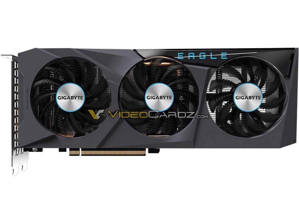Gigabyte Radeon RX 6600 Eagle  system chłodzenia