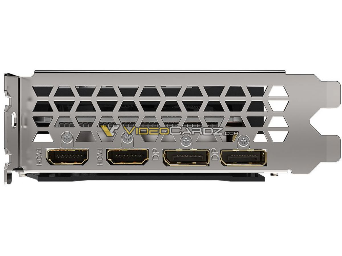 Gigabyte Radeon RX Eagle 6600 porty