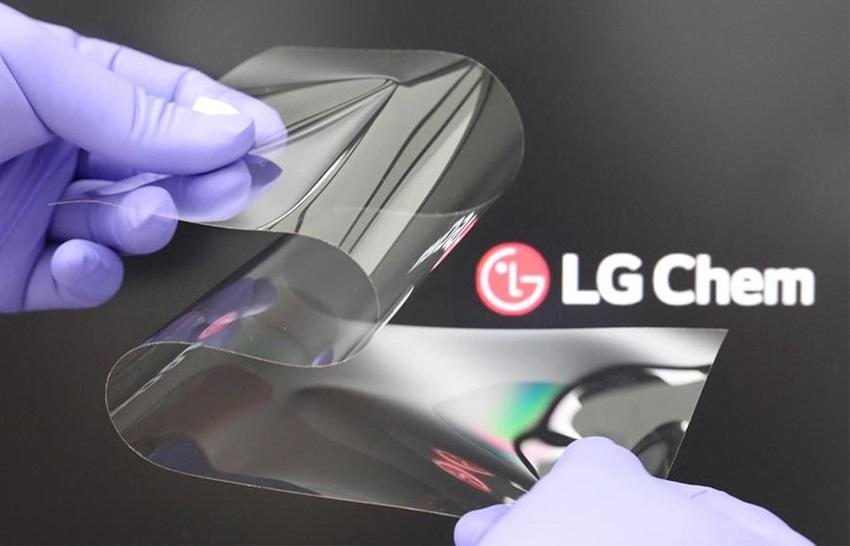 LG Chem nowe szkło do składanych smartfonów