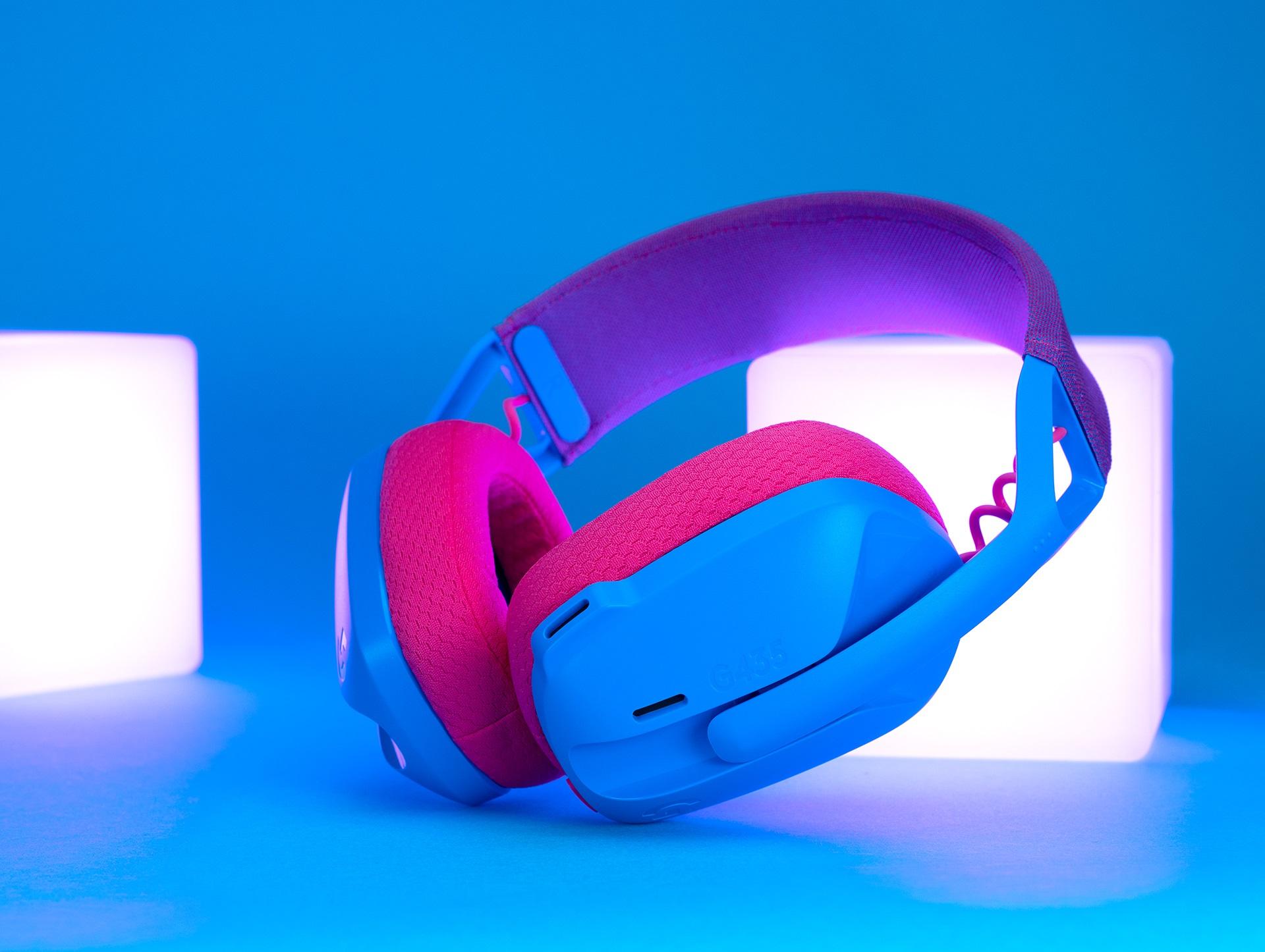 lekkie słuchawki dla graczy Logitech G435