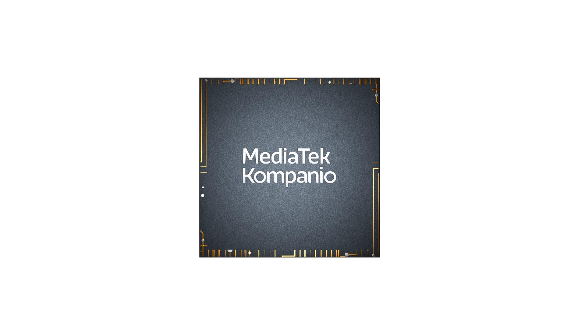 MediaTek Kompanio chip logo