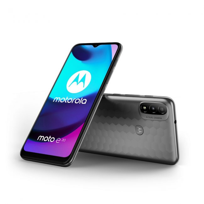 smartfon Motorola Moto E20 smartphone